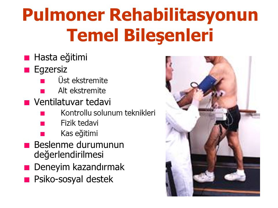 Pulmoner Rehabilitasyonun Temel Bileşenleri