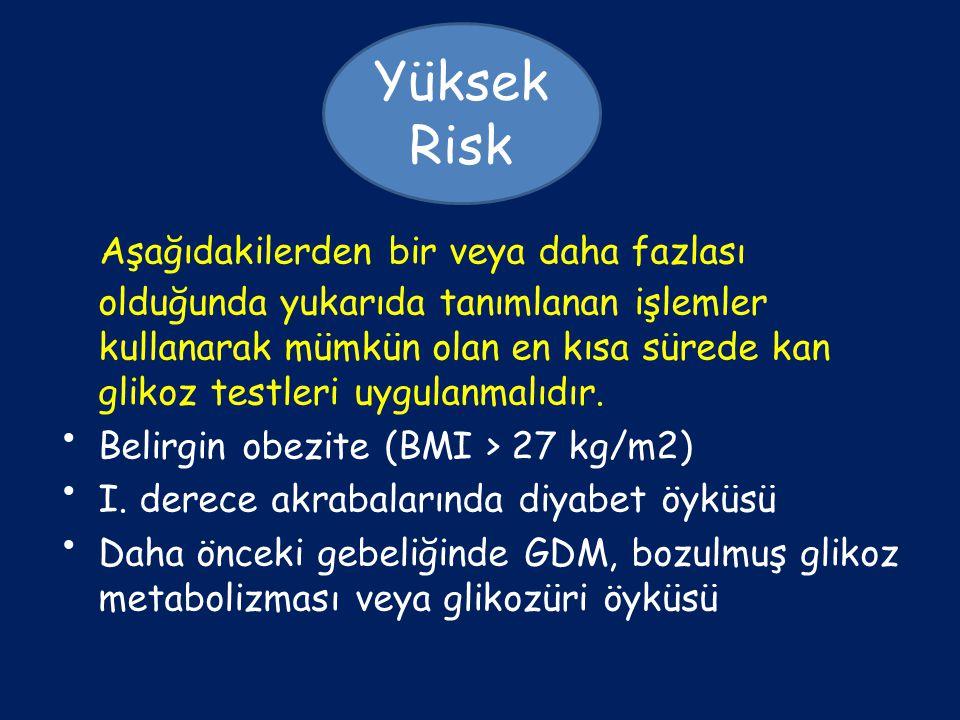 Yüksek Risk