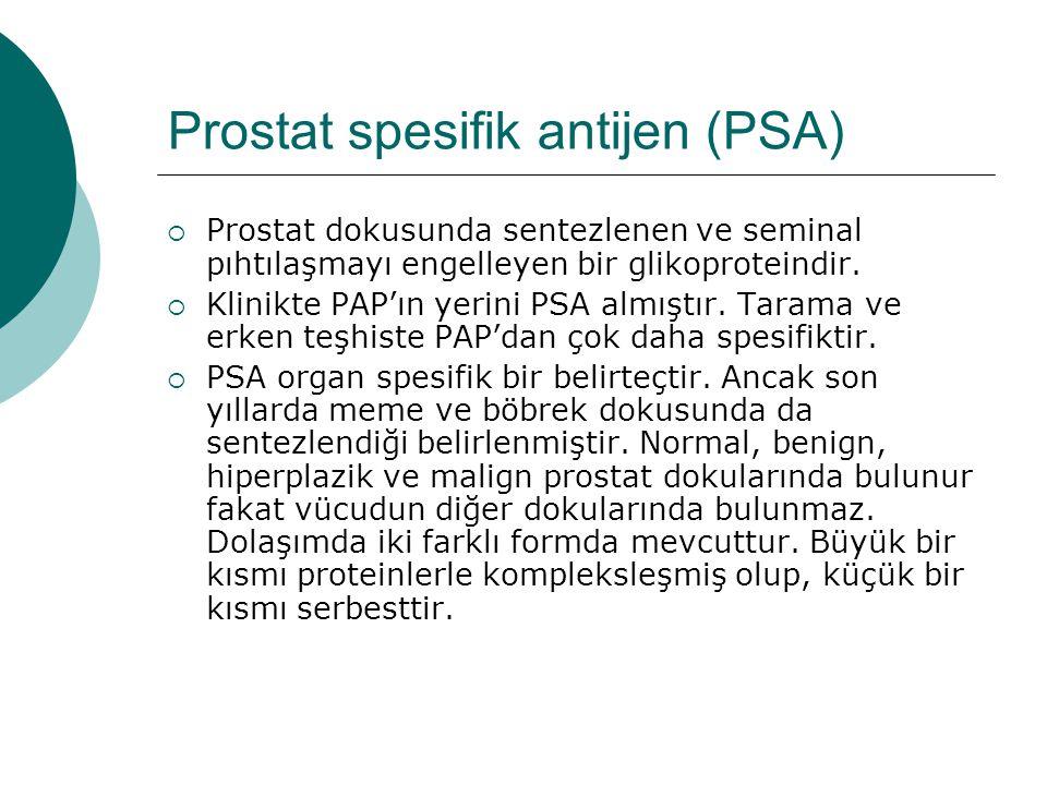 Prostat spesifik antijen (PSA)