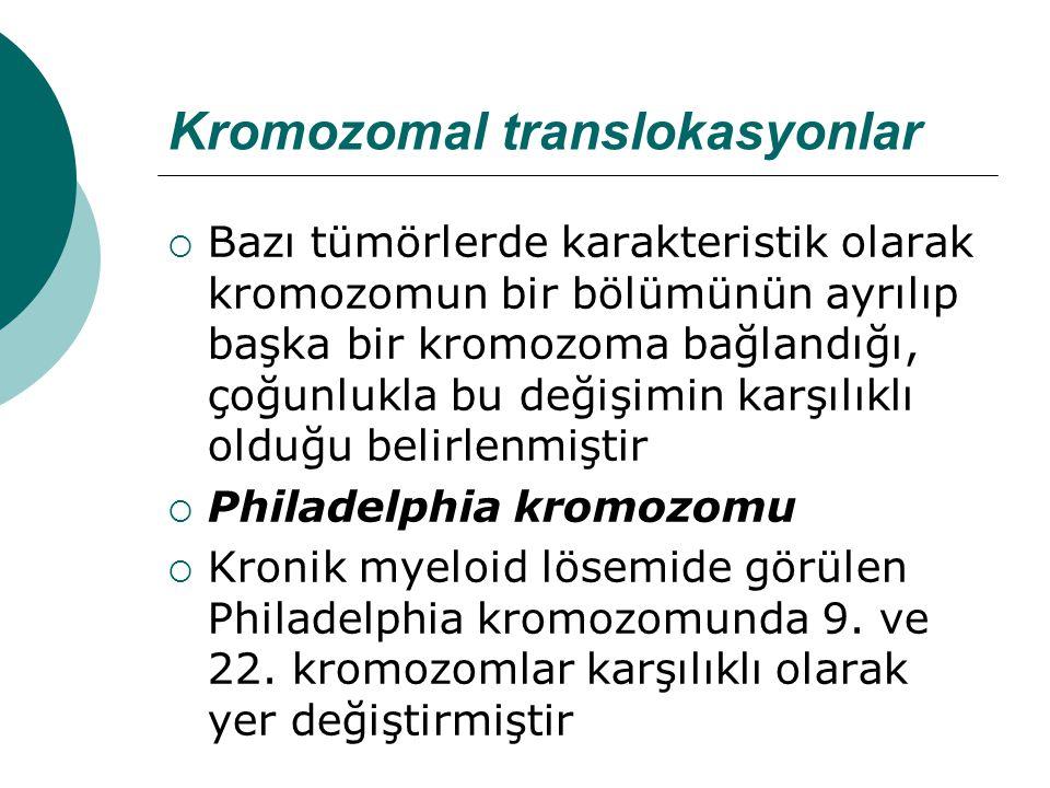 Kromozomal translokasyonlar