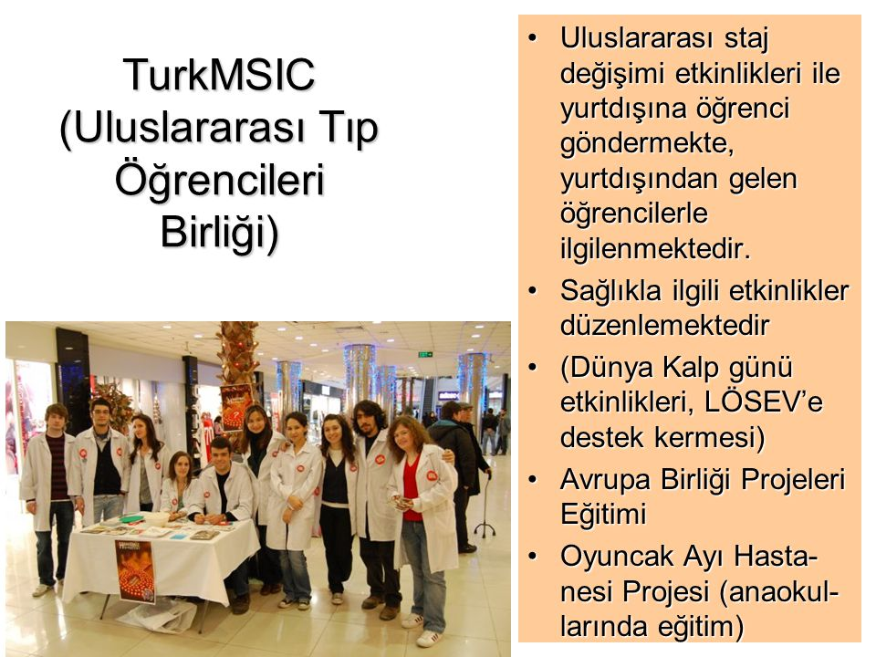 TurkMSIC (Uluslararası Tıp Öğrencileri Birliği)