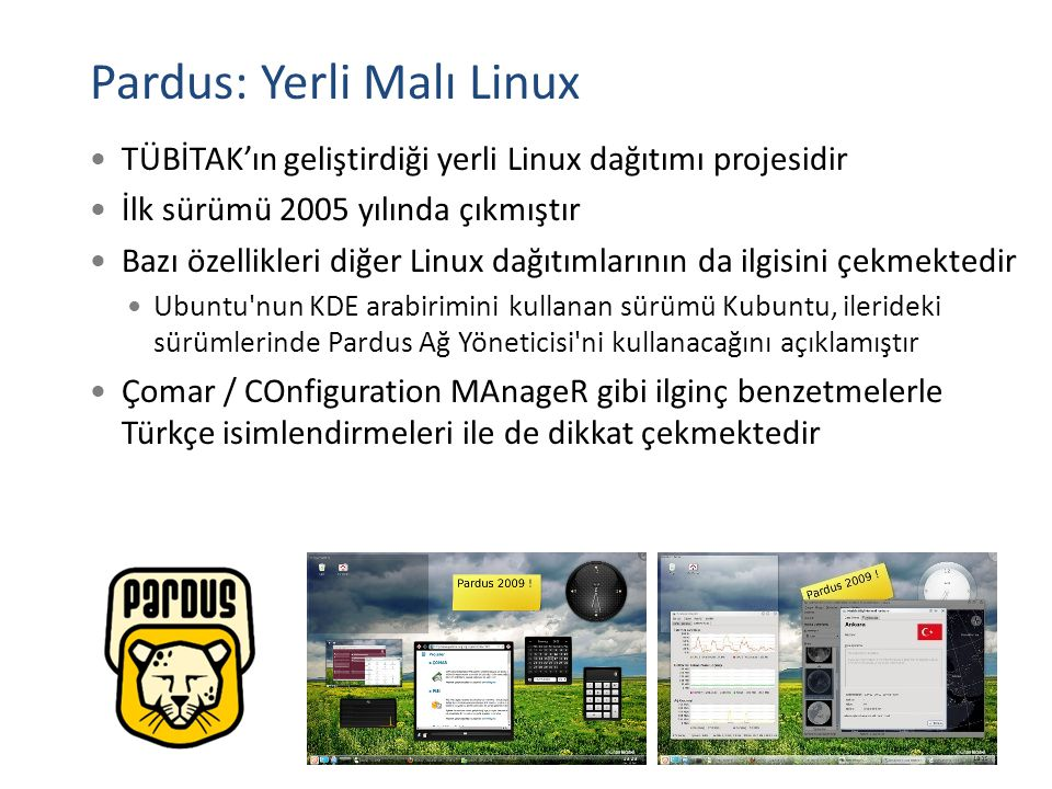 Pardus: Yerli Malı Linux