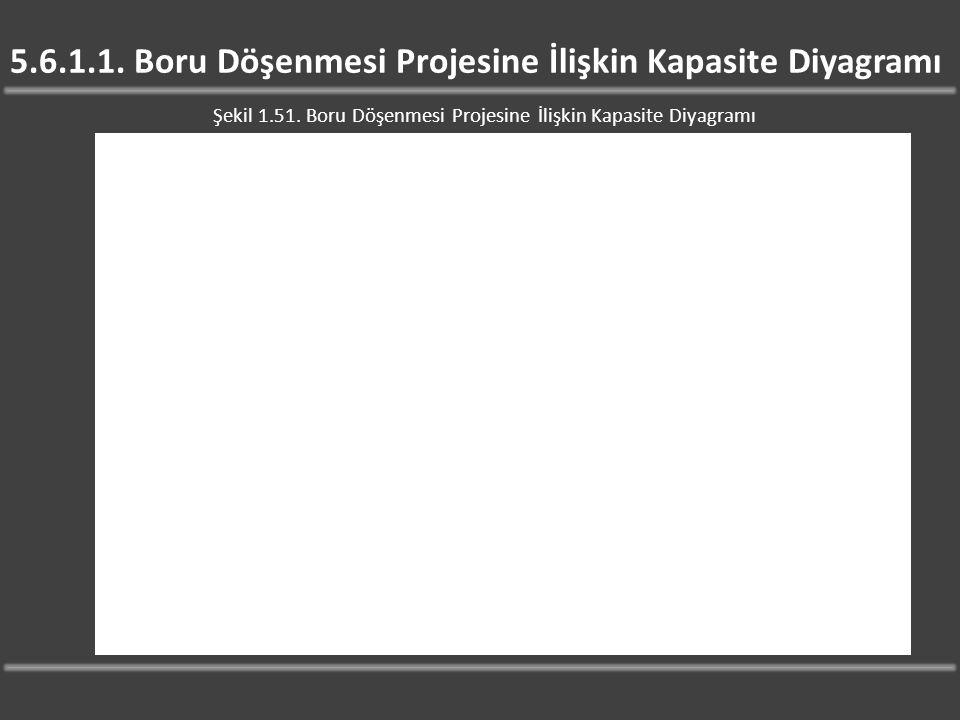 5.6.1.1. Boru Döşenmesi Projesine İlişkin Kapasite Diyagramı