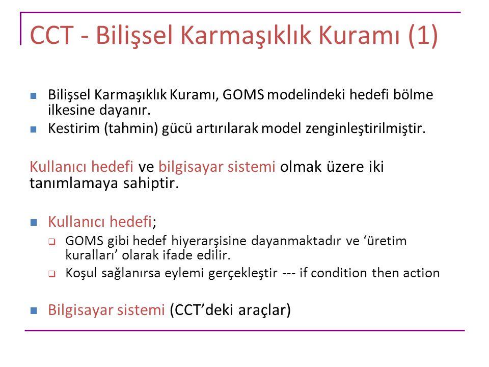 CCT - Bilişsel Karmaşıklık Kuramı (1)
