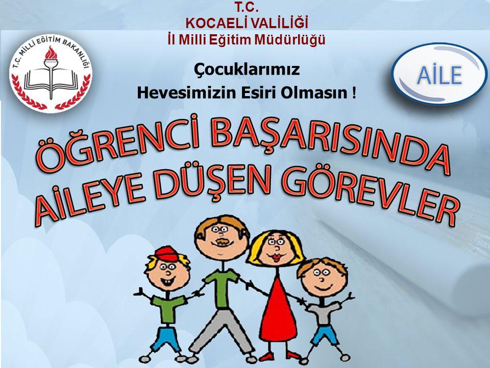 İl Milli Eğitim Müdürlüğü Hevesimizin Esiri Olmasın !