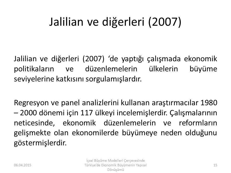 Jalilian ve diğerleri (2007)