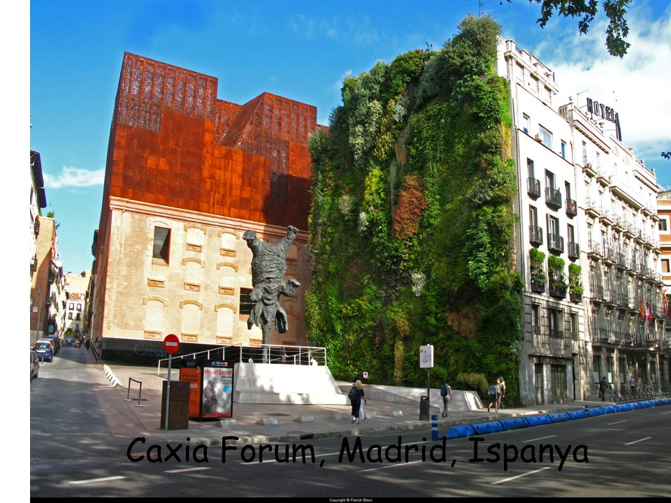 Caxia Forum, Madrid, İspanya