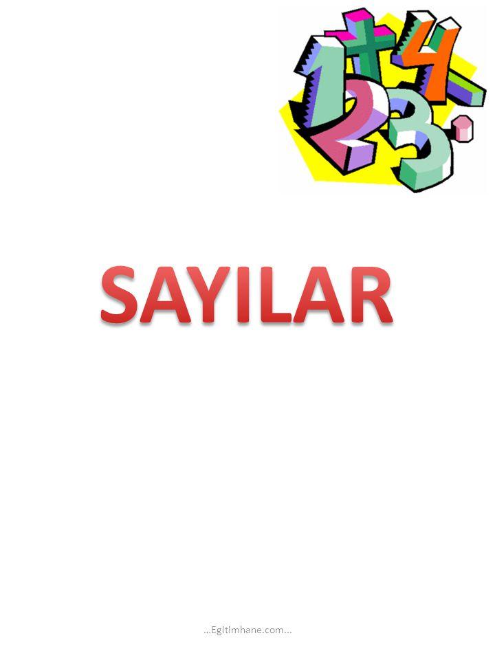 SAYILAR …Egitimhane.com...