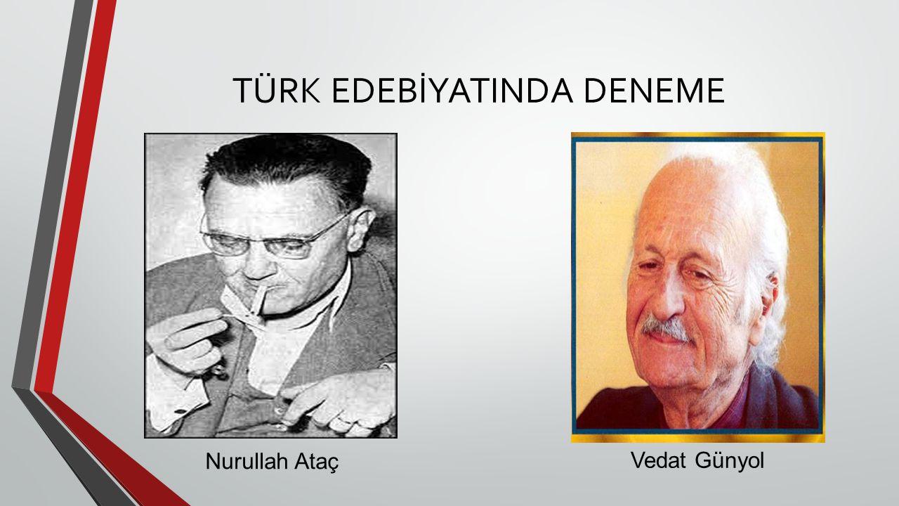 TÜRK EDEBİYATINDA DENEME