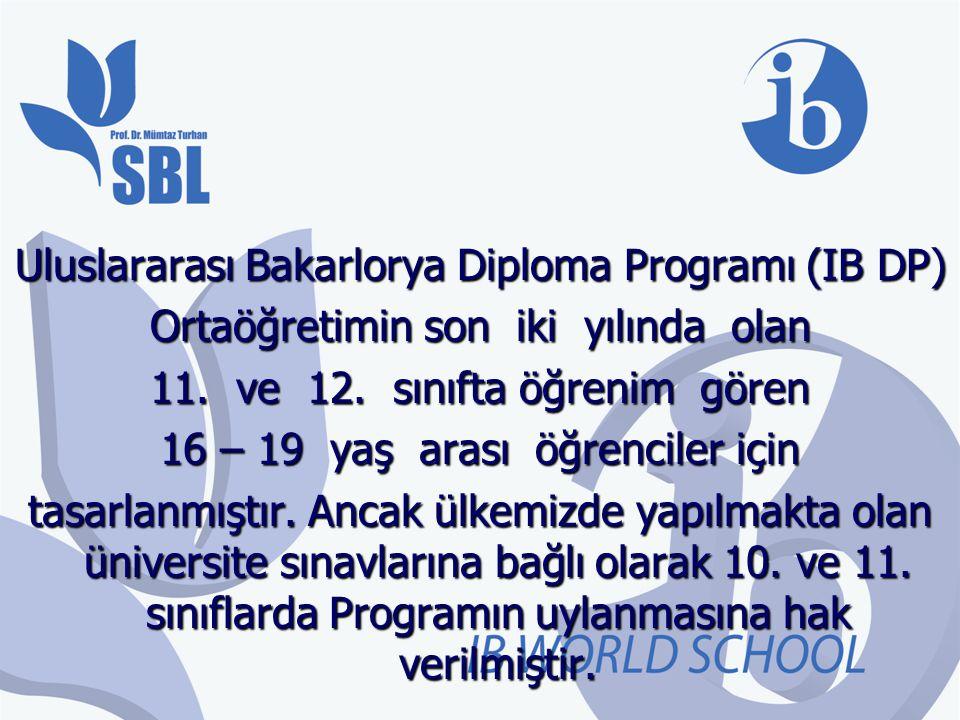 Uluslararası Bakarlorya Diploma Programı (IB DP)