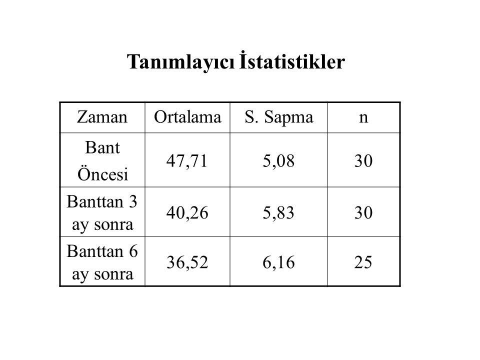 Tanımlayıcı İstatistikler