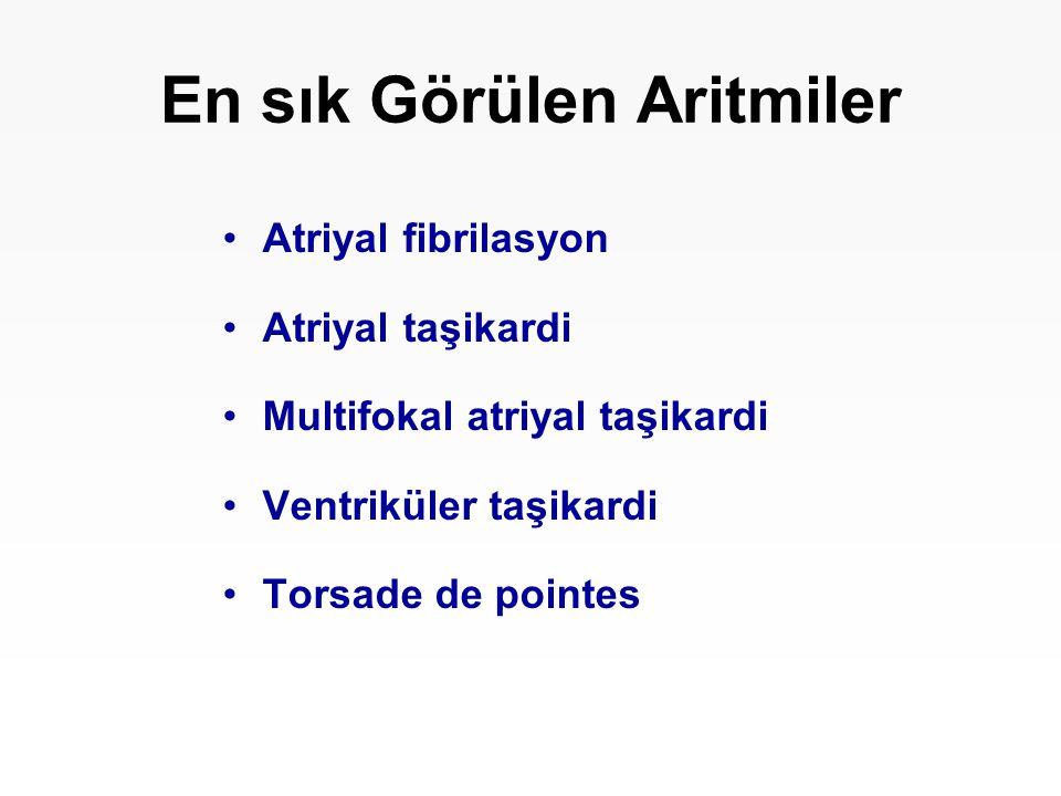En sık Görülen Aritmiler