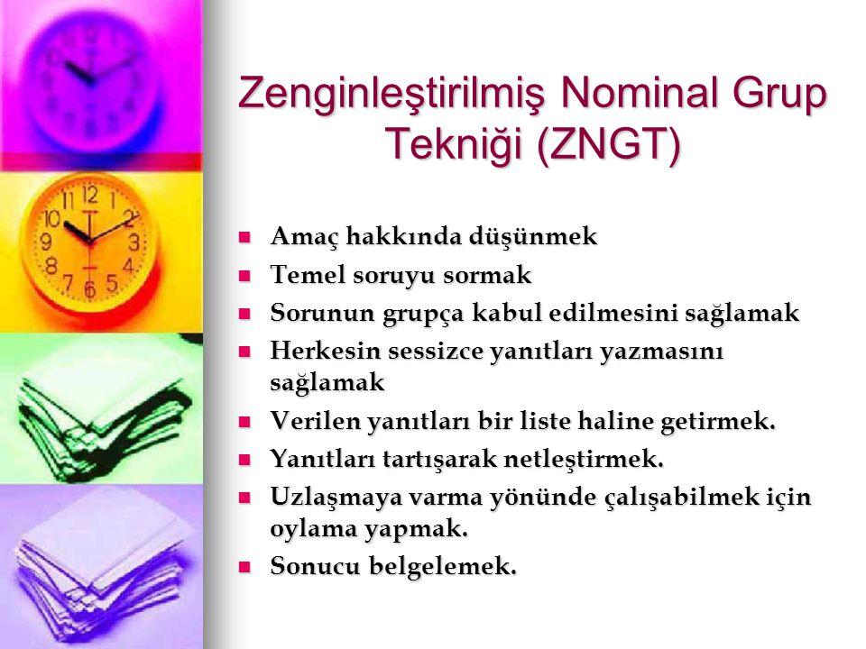 Zenginleştirilmiş Nominal Grup Tekniği (ZNGT)