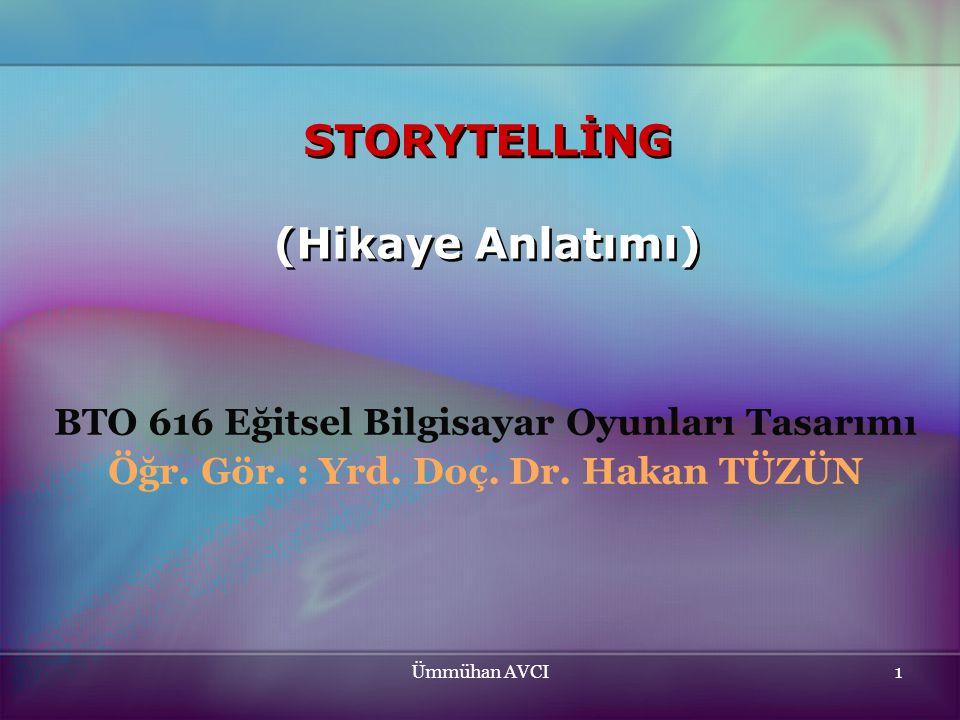 STORYTELLİNG (Hikaye Anlatımı)
