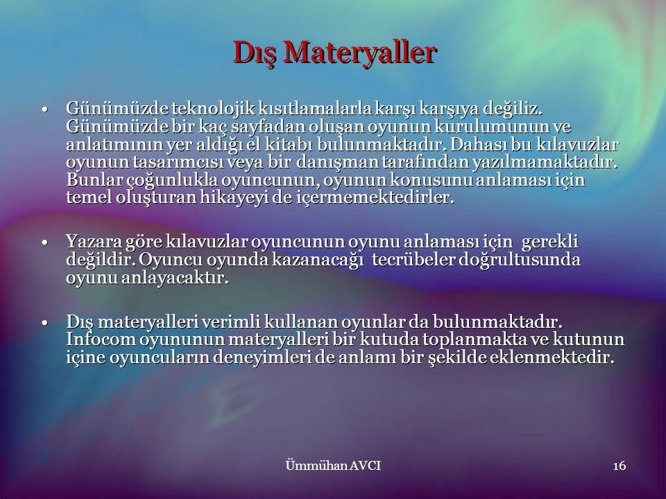 Dış Materyaller