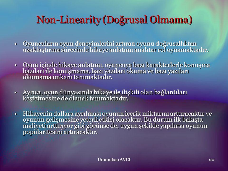 Non-Linearity (Doğrusal Olmama)