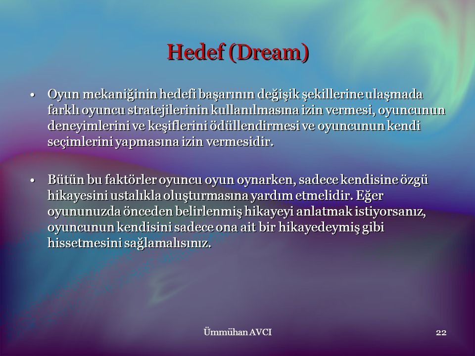 Hedef (Dream)