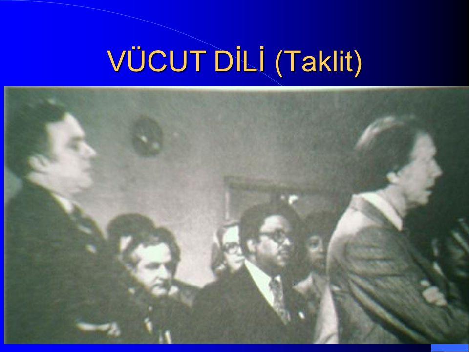 VÜCUT DİLİ (Taklit) / 50