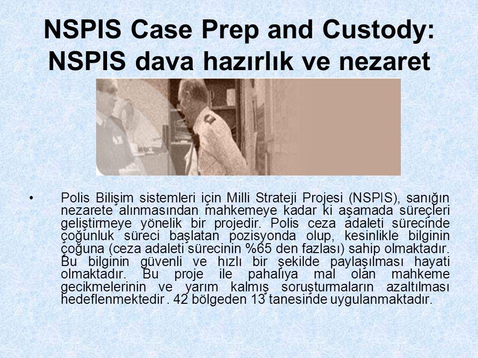NSPIS Case Prep and Custody: NSPIS dava hazırlık ve nezaret