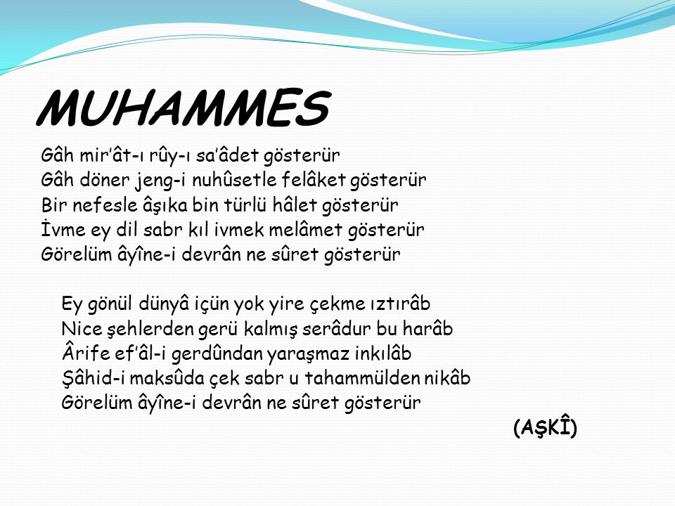 MUHAMMES