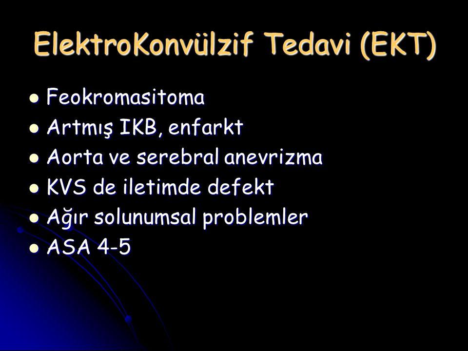 ElektroKonvülzif Tedavi (EKT)