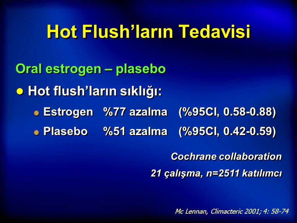 Hot Flush'ların Tedavisi