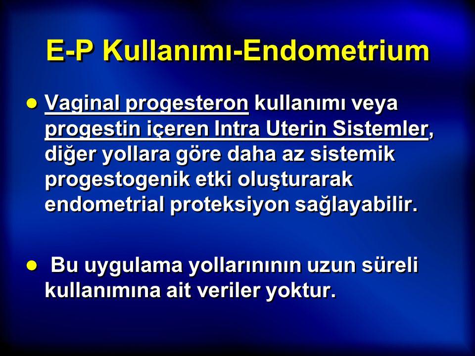 E-P Kullanımı-Endometrium