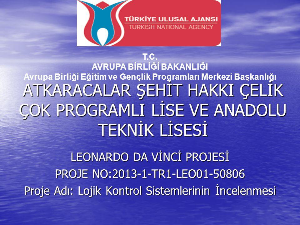 T.C. AVRUPA BİRLİĞİ BAKANLIĞI Avrupa Birliği Eğitim ve Gençlik Programları Merkezi Başkanlığı