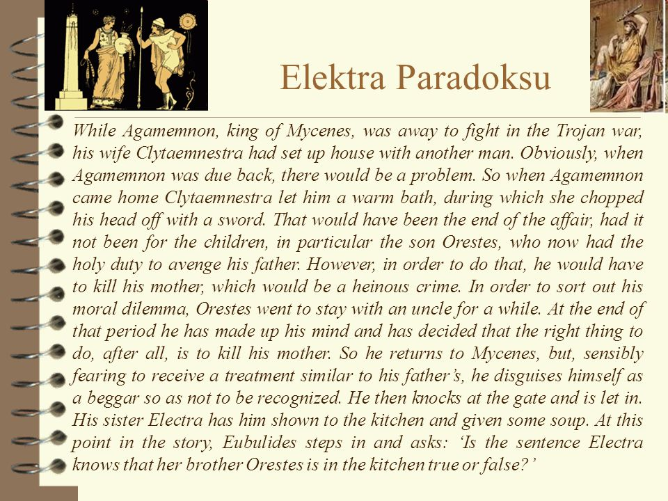 Elektra Paradoksu