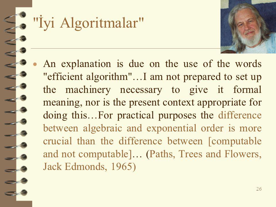 İyi Algoritmalar