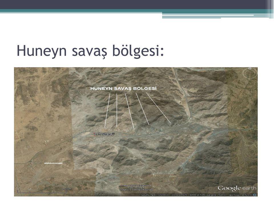 Huneyn savaş bölgesi: