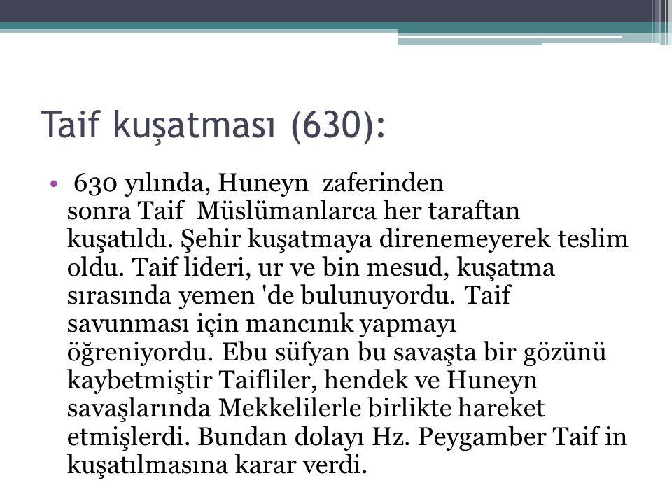 Taif kuşatması (630):