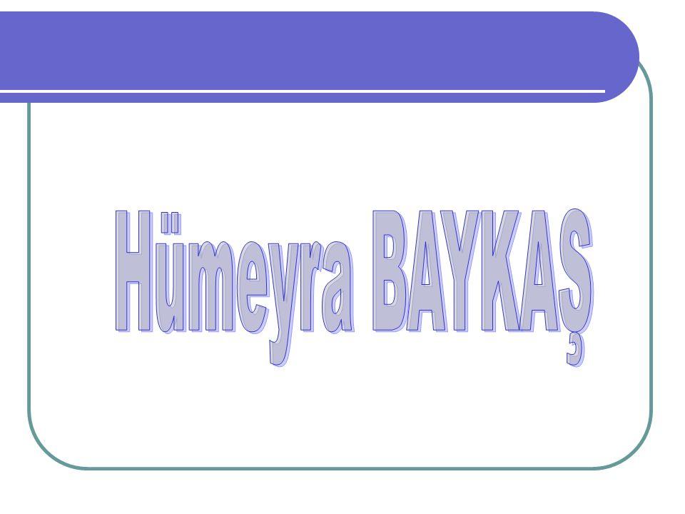 Hümeyra BAYKAŞ