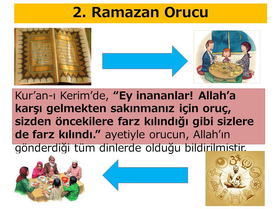 2. Ramazan Orucu