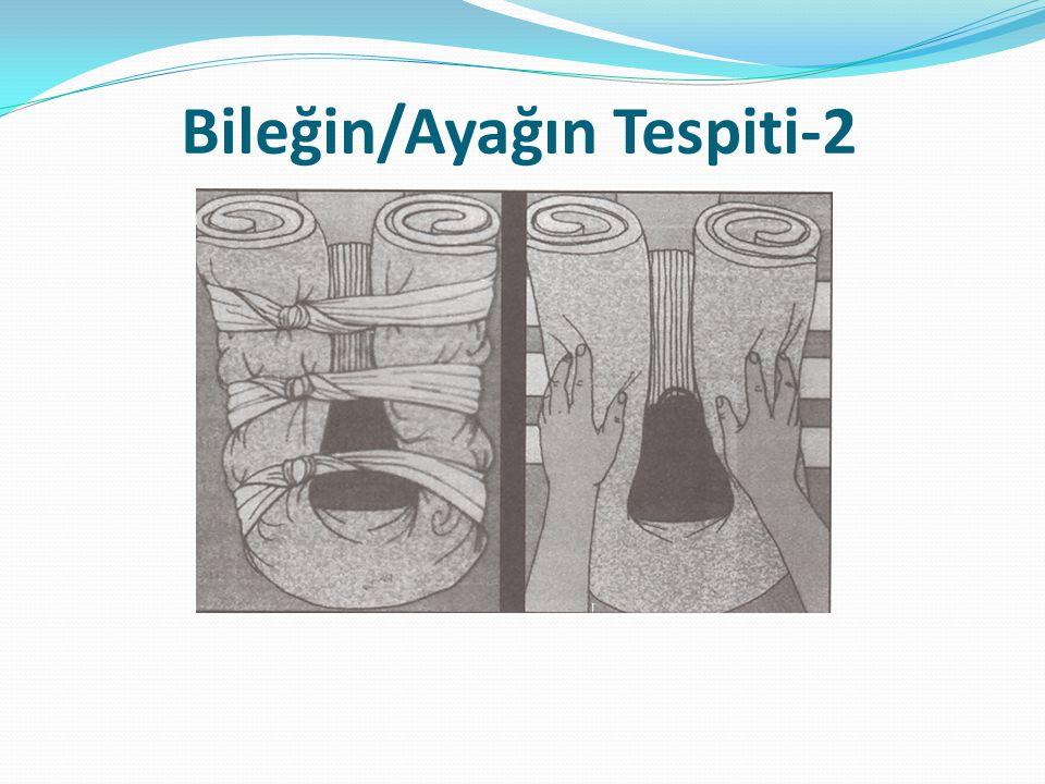 Bileğin/Ayağın Tespiti-2