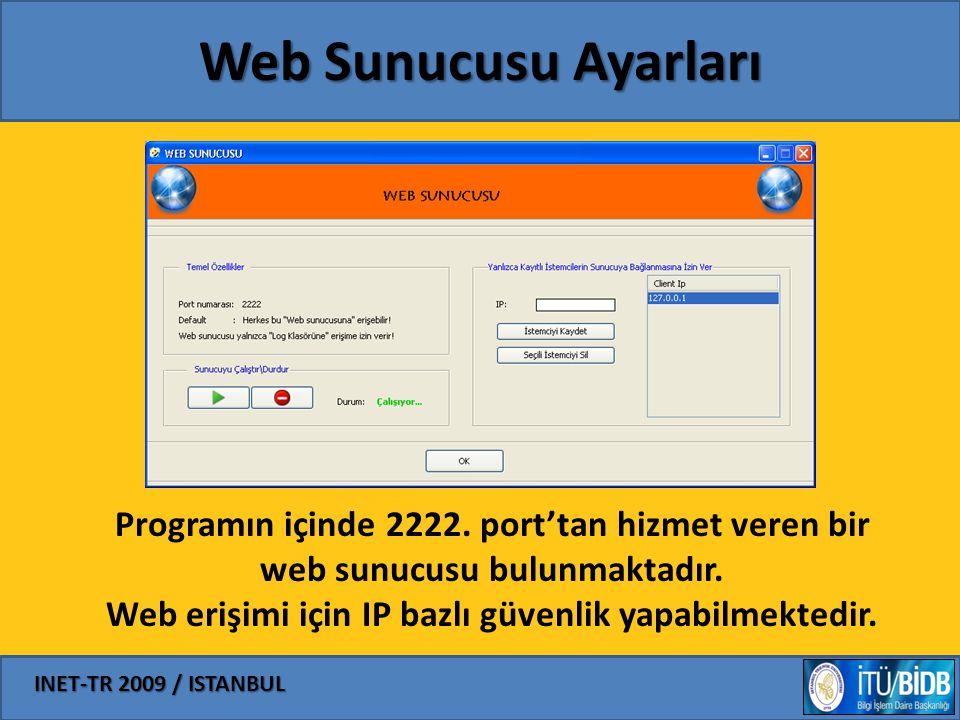 Web Sunucusu Ayarları