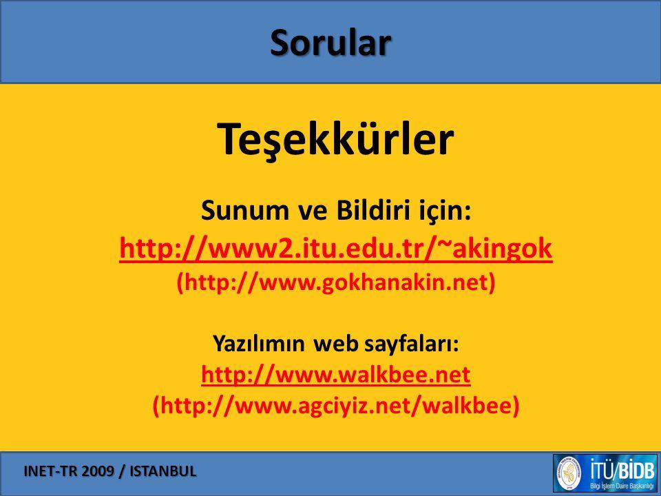 Yazılımın web sayfaları: