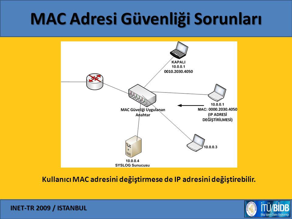 MAC Adresi Güvenliği Sorunları