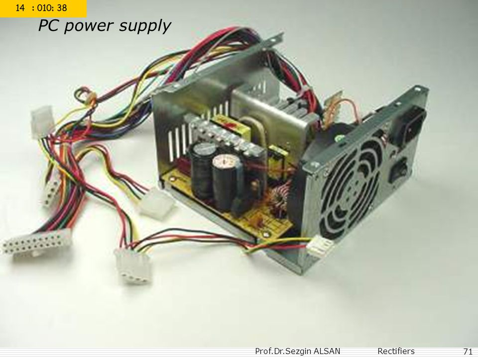 PC power supply 71