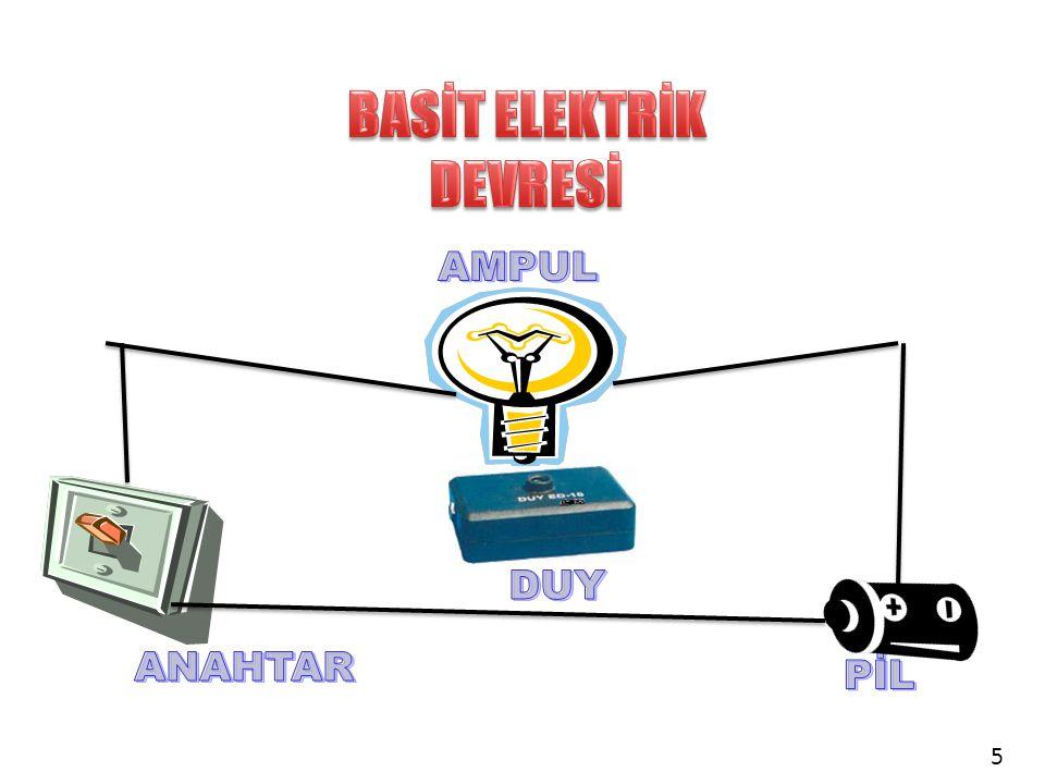 BASİT ELEKTRİK DEVRESİ