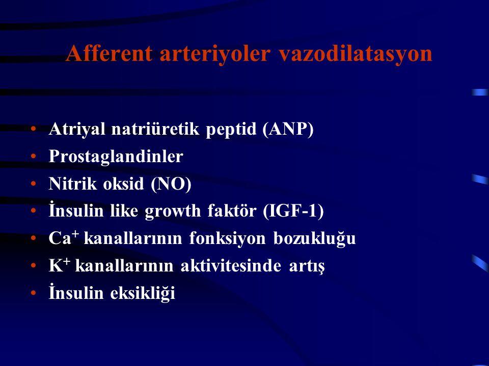 Afferent arteriyoler vazodilatasyon