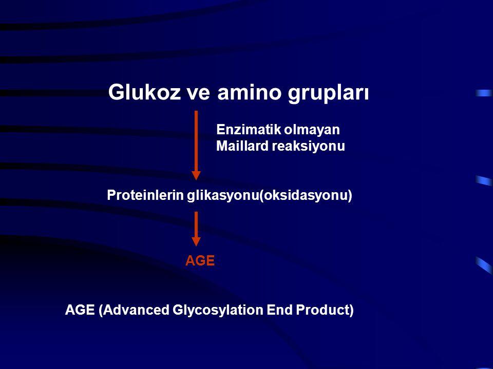 Glukoz ve amino grupları