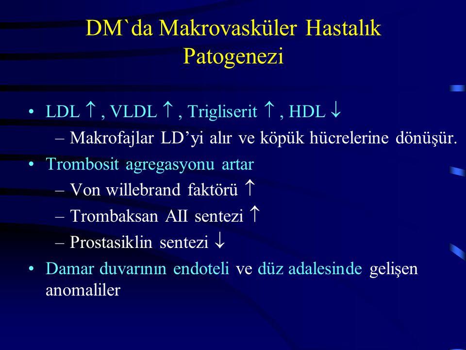DM`da Makrovasküler Hastalık Patogenezi