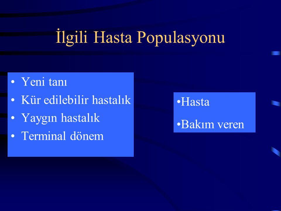 İlgili Hasta Populasyonu