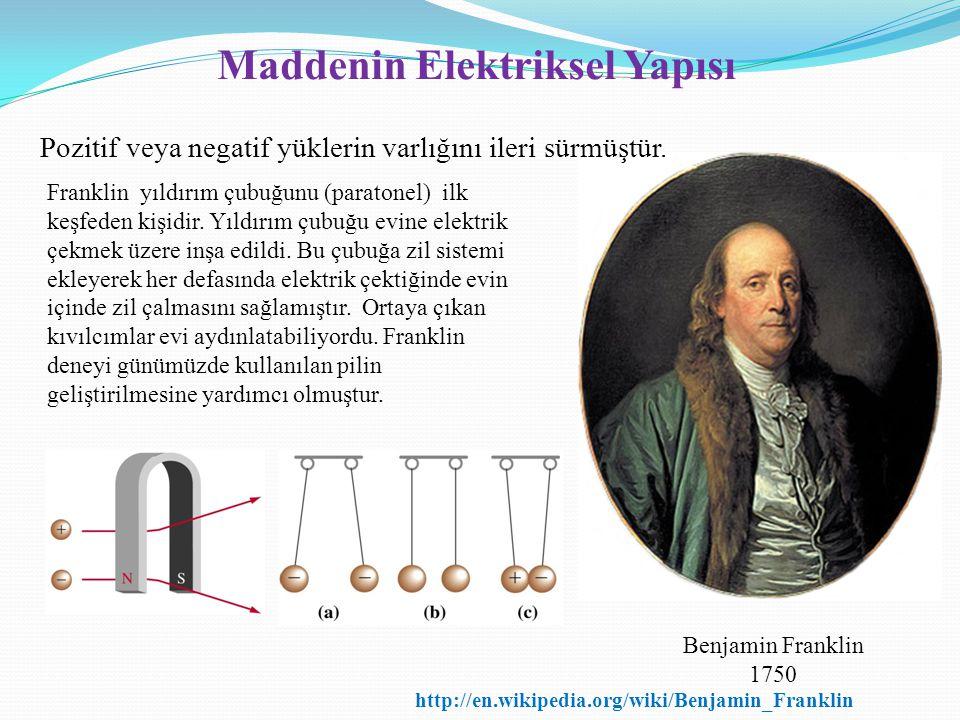 Maddenin Elektriksel Yapısı
