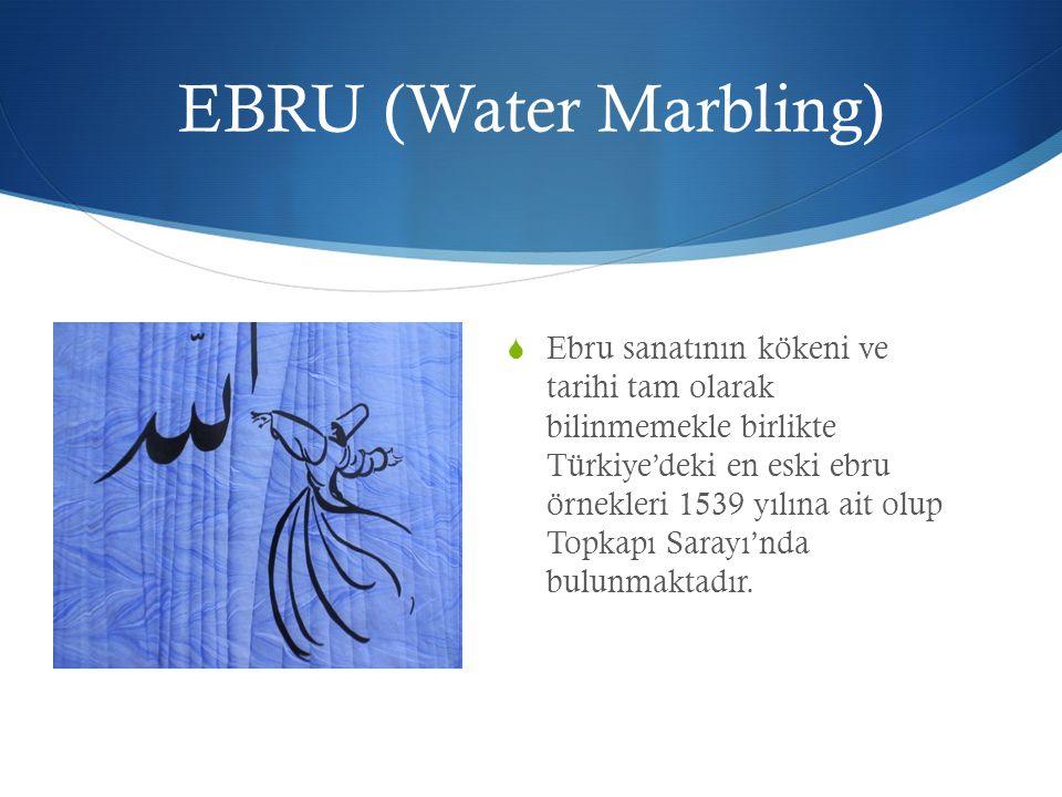 EBRU (Water Marbling)