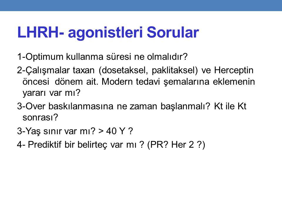 LHRH- agonistleri Sorular