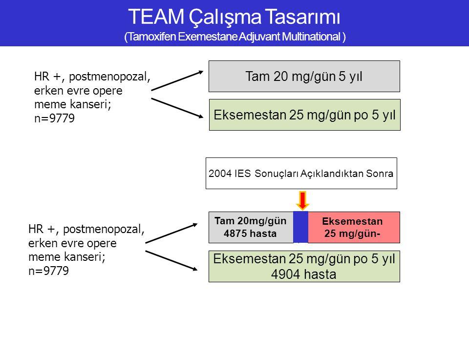 TEAM Çalışma Tasarımı (Tamoxifen Exemestane Adjuvant Multinational )
