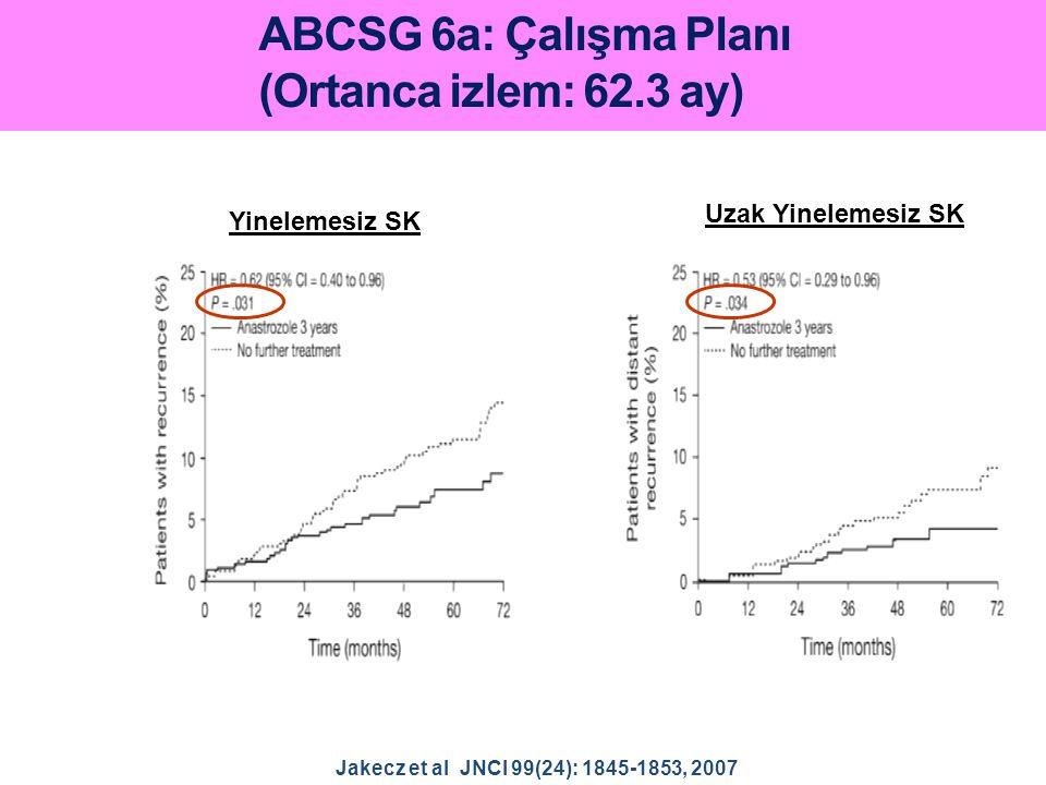 ABCSG 6a: Çalışma Planı (Ortanca izlem: 62.3 ay)