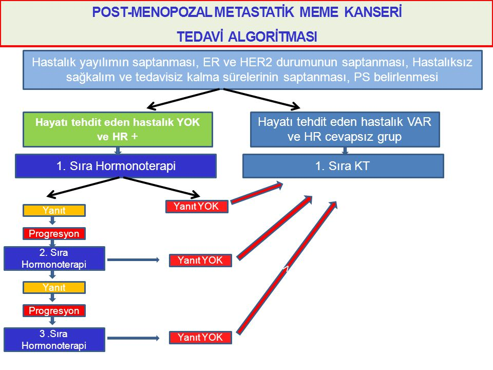 POST-MENOPOZAL METASTATİK MEME KANSERİ